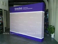 Wholesale 10ft X368cm Pop Up Display Folding Portable Advertising Display Trade Show Display Aluminum Pop Up Display POS D