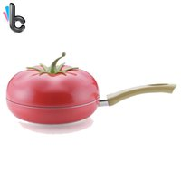 Wholesale Fruit Frying Pan Saucepan Creative Aluminum Alloy Non stick Pan Cookware Gas Grill Pans Kitchen Tools