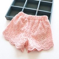 Wholesale Princess Lace Baby girls shorts Summer Spring children shorts kids shorts for girls clothes toddler girl clothing