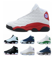 athletic training basketball - 2016 new retro XIII basketball shoes for men athletic sport shoes outdoor sneakers training shoes size eur