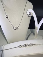 Wholesale 2016 The Latest Necklace Earrings Bracelet Set Of Silver And Gold Jewelry Three Suits For The Wedding Party Dressed Women