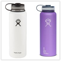 Wholesale IN STOCK oz colors hydro flask Bottle Stainless Steel Hydro Flask Cups Wide Mouth Insulation Hydro Flask Tumbler Rambler