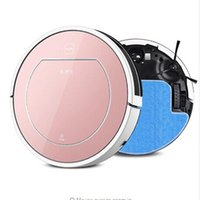 bagless vacuum filter - New ILife CHUWI V7S intelligent Dry and Wet Mop Robotic Vacuum Cleaner household Buletooth control Sensor household cleaning