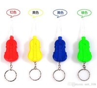 Wholesale Slip violin dug Ershao light emitting Ershao light Ershao clean ears mining tools Taoer Duo Keychain