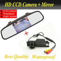 astra auto - HD Auto Parking Monitor Reversing CCD Car Rear View Camera With Car Rearview Mirror For OPEL Vectra Astra Zafira Insignia
