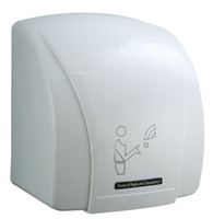 Wholesale 110V or V wall mounted hands dryer water remover air collecting duct air blowing ABS hand drying
