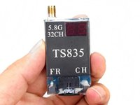 Wholesale FPV G mW Channel Wireless FPV Audio V A output Video Transmitter Ghz Wireless Video Receiver TS835