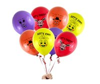 Wholesale 100pcs Five Nights At Freddy s FNAF Party Balloon colors mixed ballons figure toys