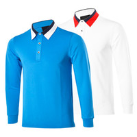 Wholesale New fashionable Brand TIT Golf clothing Long sleeve Casual wear colors S XXL size for Golf T shirt