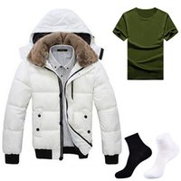 Wholesale Fall Hot Sale Leisure Solid Simple Style Fashion Winter Parka Jackets Men Casual Pure Tops Hombre Camisetas