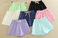 belly jeans - Fashion Women Summer Shorts Casual Pants Shorts Pants Belly LeggingsTrousers Pink Green Blue Denim Jeans Shortsbeach shorts