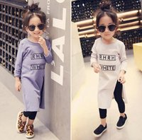 Wholesale Baby girls T shirt winter dresses new children cherry printed tops kids cotton tassel short sleeve dress shirt baby girls clothes