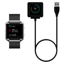 Wholesale Fitbit Blaze Smart Bracelet Heart Rate Charging Line Anti Interference USB Transmission Data Cable Charger Dock