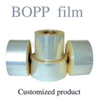 bopp film - BOPP Cellophane Wrapping film Cigarettes cosmetics poker box blister film blister sealing machine customized size thick mm