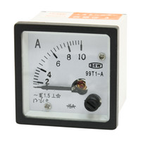 Analog Only Others AC 0-10A Wholesale-Class 0-10A Scale Range AC Current Panel Ampere Meter 99T1-A AC 10A Ammeter
