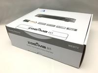 Wholesale 10pcs Original Zgemma h5 Enigma Linux Dual Core DVB S S2 HYBRID DVB C T T2 tuner Satellite Receiver H HEVC Smart TV Box