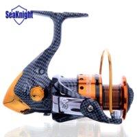 Wholesale SeaKnight New High Quality Metal Spinning Fishing Reel Series Saltwater bb Pescaria Carpfishing Fishing Wheel Coil