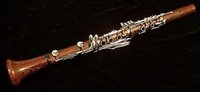 Gros-Nouvelle Backun Protege Bb Cocobolo Clarinette avec Left main Eb levier nickel Clés