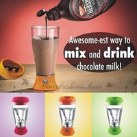 automatic kettle - DHL Fedex Free Fashion Whey Protein Powder Shaker Blender Cup Automatic Movement Fruit Infuser Bottle ml Candy color Water Bottle M335
