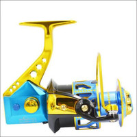 Wholesale Specialty Sea Fishing BB Biaxial system Full Metal Fish line Wheel Parallel Volume Spinning Wheel VA1000 DD2