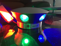 Wholesale 6W Round colorful decorative bar KTV room LED wall light