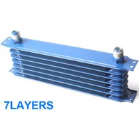 Wholesale New Japanese style Universal Aluminum ROW AN AN10 engine transmission Oil Cooler effectively reduce gearbox oil temperature TRUST TYPE