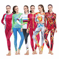 Wholesale Fitness Running Women Compression Long Sleeve Sport Gym Set shirts pants XS XL WFL6