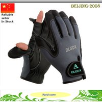 Wholesale NEOPRENE FOLDING FINGERS FISHING HUNTING SHOOTING CAMPING GLOVES SIZE XL L
