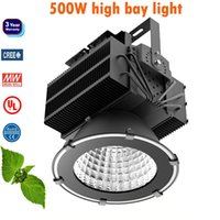 LED bay power - 500w high power led bay light waterproof outdoor field sports court stadium lighting meanwell driver creechip years warranty