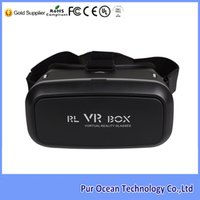 active direct box - Direct Factory Sale Low Price Google Cardboard Plastic VR BOX D Video Glasses Active D VR Headset for Mobile Phone