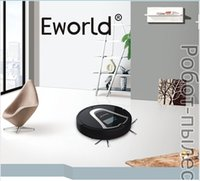 automatic recharge - Eworld New Mop Clean Automatic Intelligent Sweeping Robot Vacuum Cleaner M884 Black Color with Automatic Recharge Side Brushes
