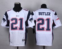 american butler - new elite american football jersey hightower butler men jerseys adult shirts man shirt stiched tops top blue red white
