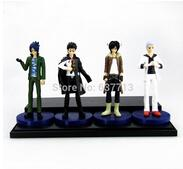 Wholesale transperformer Hitman Reborn Mukuro Sasagawa Lambo PVC Action Figures Toys Dolls set