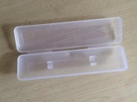 Wholesale 5 Plastic Box Pen packaging box Transparent box PP Box Size x40x20mm x x inch