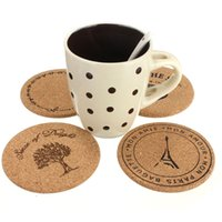 best wooden coaster - Best Price Wooden Coffee Tea Drink Mug Cup Coaster Mat Placemat Round Tableware Thermal Fit For Decoration