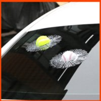 car accessories logo - 3D tennis auto logo car styling car stickers metal badge emblem tail decal motorcycle car accessories Dimensional simulation