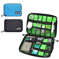 accessories usb devices - New Electronic Accessories Travel Bag Nylon Mens Travel Organizer For Date Line SD Card USB Cable Digital Device Bag