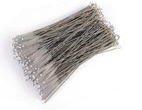 Straws nettoyage biberons pour bébés de pinceau brosse de nettoyage 17cm fil d'acier inoxydable