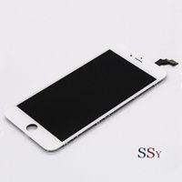 Wholesale Grade AAA Top Quanlity LCD For iPhone Display With Digitizer Replacement Assembly White Black Color Free DHL