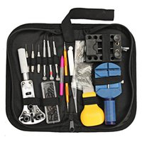 Wholesale 144Pcs Watches Strap Repair Tools Kits Watchmaker Tool Back Case Remover Opener Spring Pin Bar For Watch Accessories PIT_32V