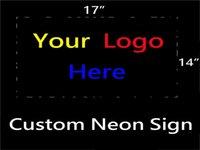 beer logo signs - HOT Eagle quot x quot Custom Logo Beer Bar Neon Light Signs for Store Beer Bar Restaurant Billiards Shops Display Signboards