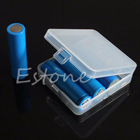 Wholesale Transparent Hard Plastic Case Holder Storage Battery Box for x Batteries