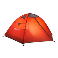 Wholesale 3 Person Beach Tents Double Layer Rainproof Fishing Tent Large Family Camping Picnic Hiking Travel Use