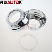 Wholesale inches hid projector lens shroud high temp for car headlight can install angel eye