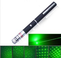 Wholesale 5mW nm Green Red light Laser Pen Beam Laser Pointer Pen For SOS Mounting Night Hunting teaching Xmas gift Opp Package