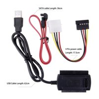 Wholesale New Arrival SATA PATA IDE Drive to USB Adapter Converter Cable for Inch Hard Drive Hot Worldwide