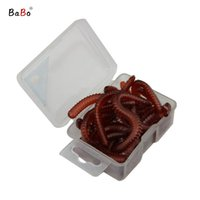 artificial bread - 20g Box Fishing Lures Lugworm Bread Worms Artificial Bait For Fresh Water Angleworm Earthworm Soft Lure BB033