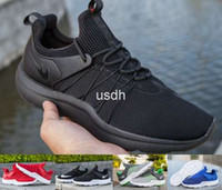 amphibious boots - 2016 Darwin Run Summer Mens Flat Running Shoes Lace Up Shoe Men All Black Amphibious Breathable Sneakers Boots Wading Shoes