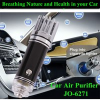 Wholesale Car Accessory Air Purifier Oxygen Bar Car Ionizer Interior Decoration Air Freshener Remove Smoke And Clean Air Car Styling