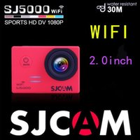 Wholesale Original SJCAM SJ5000 WiFi Novatek Full HD Action GoPro Style Waterproof Sport Camera with battery